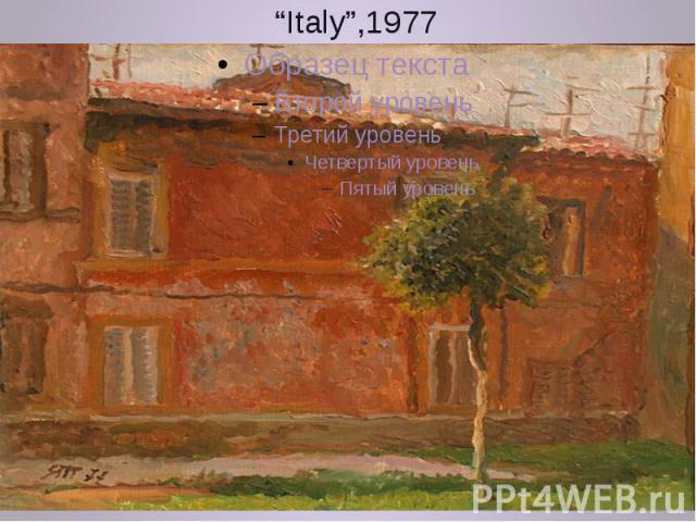 """""""Italy"""",1977"""