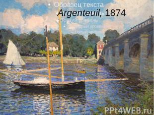Argenteuil,1874