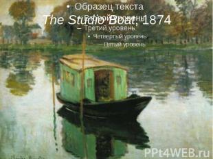 The Studio Boat, 1874