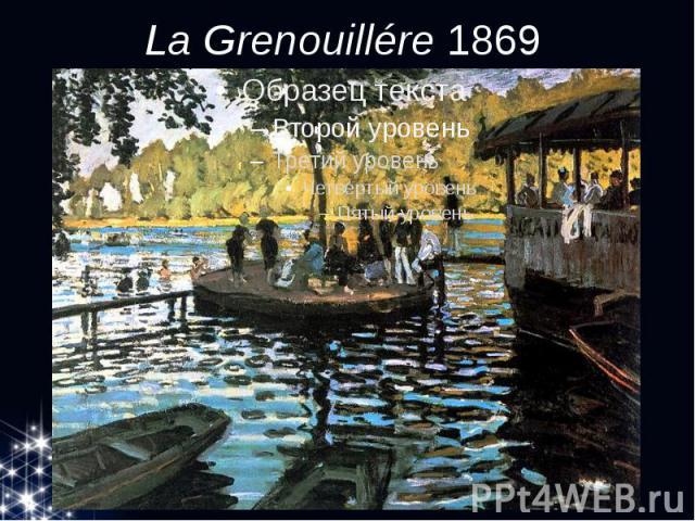 La Grenouillére1869