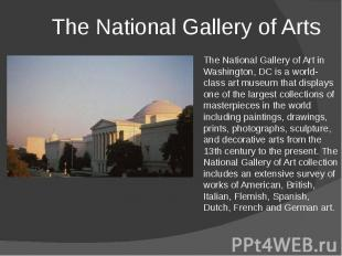 The National Gallery of Arts
