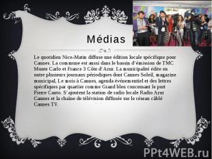 Médias Le quotidien Nice-Matin diffuse une édition locale spécifique pour Cannes