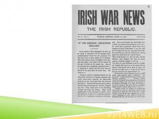 Irish War News, produced during the Rising