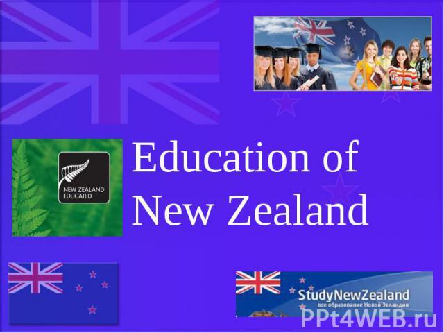 Education of New Zealand