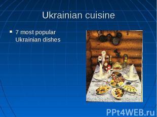 Ukrainian cuisine 7 most popular Ukrainian dishes