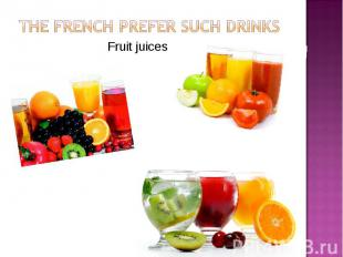 Fruit juices Fruit juices