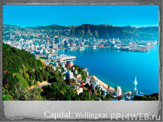 Capital: Wellington