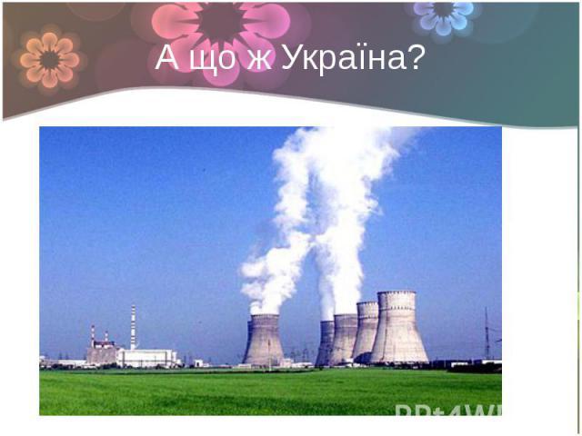 А що ж Україна?