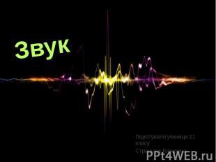 Звук Підготувала учениця 11 класу Стрельчук Катерина