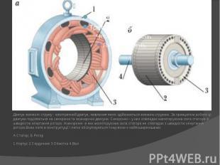 Двигун змінного струму - електричний двигун, живлення якого здійснюється змінним
