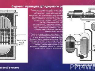 будова І принцип дії ядерного реактора Ланцюгова реакція, яка відбувається в ура