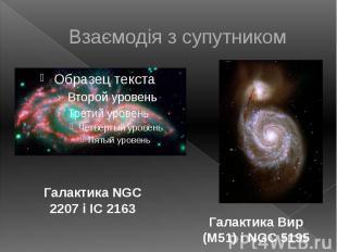 Взаємодія з супутником