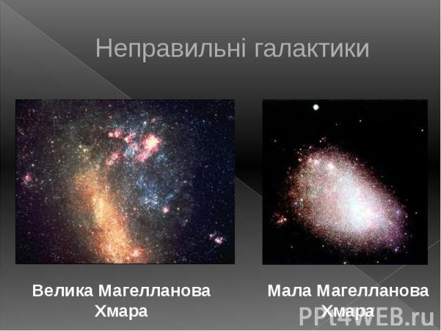 Неправильні галактики