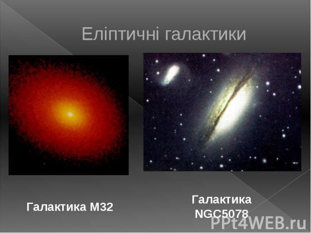 Еліптичні галактики