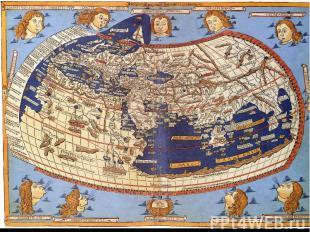 Філософ Анаксимандр уявляв Землю відрізком колони або циліндра. Середину Землі з