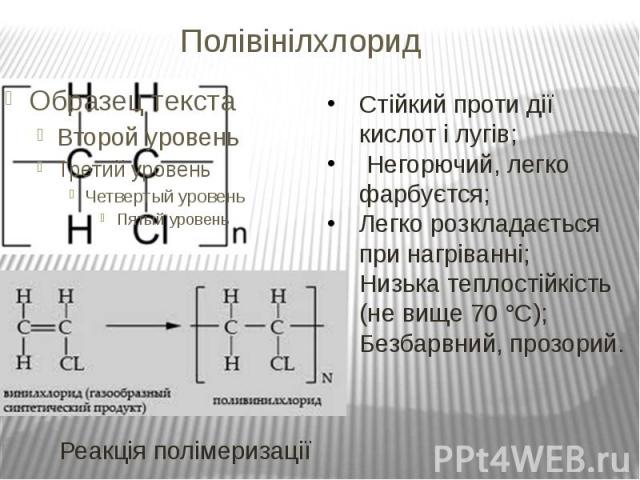Полівінілхлорид