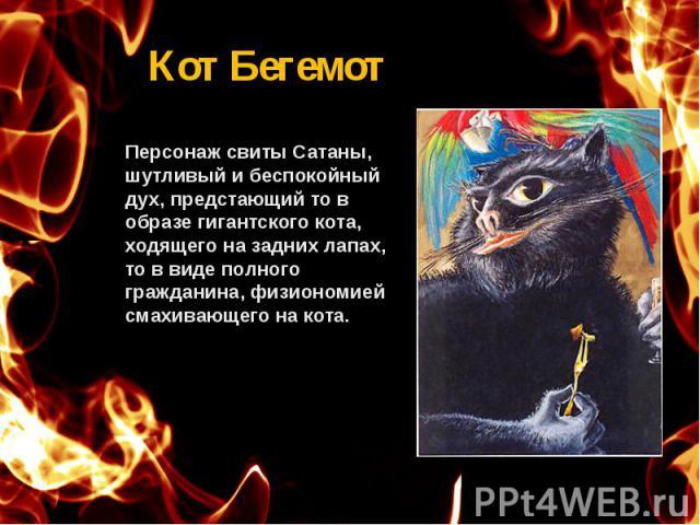 Кот Бегемот