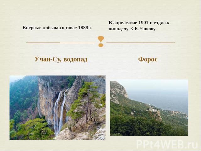 Учан-Су, водопад Учан-Су, водопад