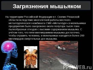 На территории Российской Федерации в г. Скопин Рязанской области вследствие мног