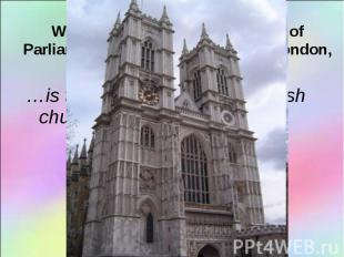 …is the most well-known English church …is the most well-known English church