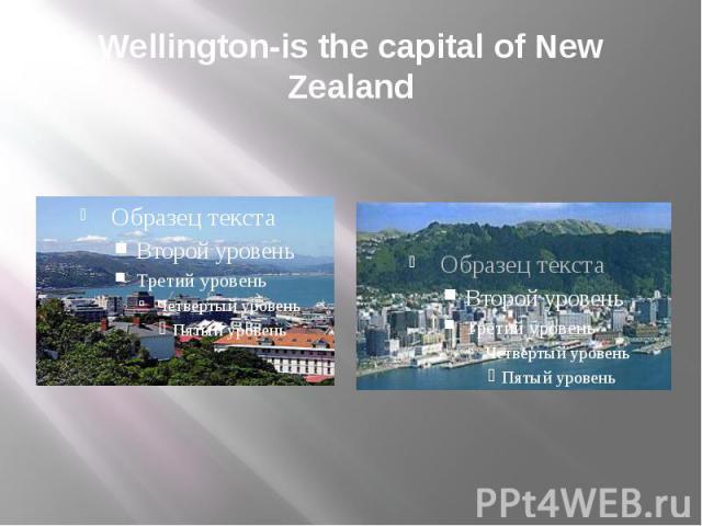Wellington-is the capital of New Zealand