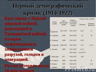 Был связан с Первой мировой войной, революцией и Гражданской войной, которые соп