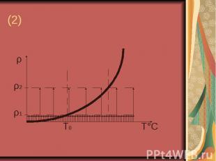 (2) ρ ρ2 ρ1 Т0 Т°С