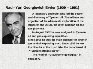 A legendary geologist who led the search A legendary geologist who led the searc