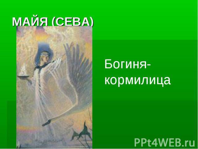 МАЙЯ (СЕВА)