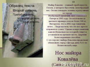 Нос майора Ковалёва (Санкт- Петербург)