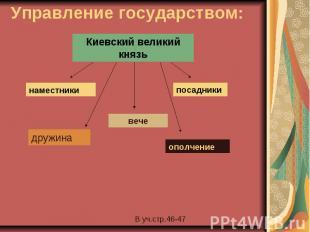 Управление государством: