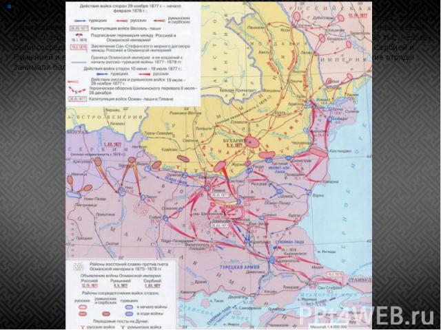 Турецкий план предусматривал активно-оборонительный образ действий: сосредоточив главные силы (около 100 тыс. человек) в «четырёхугольнике» крепостей — Рущук — Шумла — Базарджик — Силистрия, завлекать переправившихся русских к Балканам, вглубь Болга…