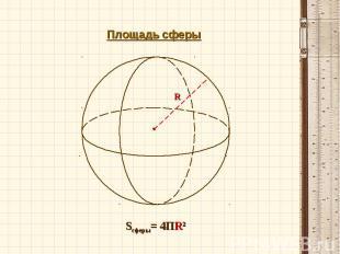 Площадь сферы