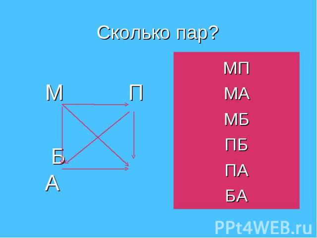 М П Б А