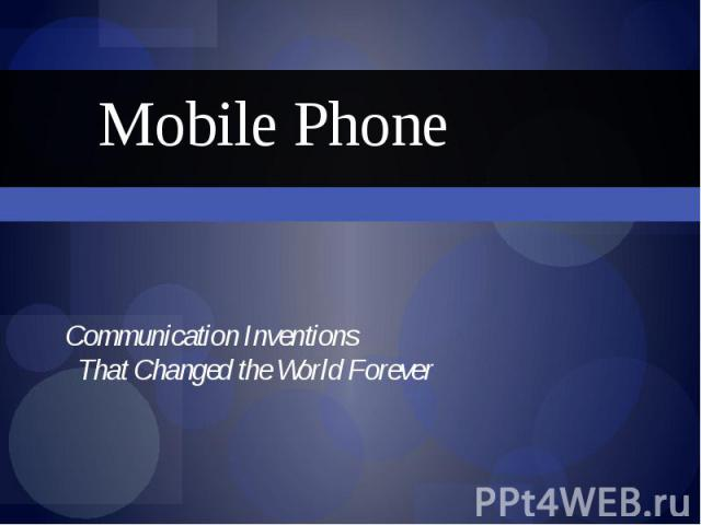 communication that changes the world How technology has changed the way we adapted the rules of communication to work with these changes communication, 142) the world.
