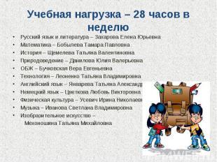 Русский язык и литература – Захарова Елена Юрьевна Русский язык и литература – З