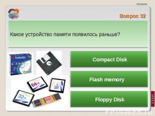 Какое устройство памяти появилось раньше? Какое устройство памяти появилось рань