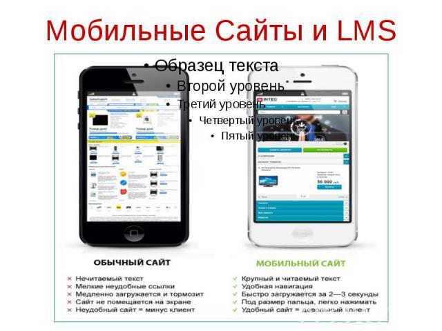 Мобильные Сайты и LMS