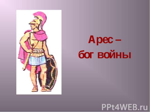 Арес – Арес – бог войны
