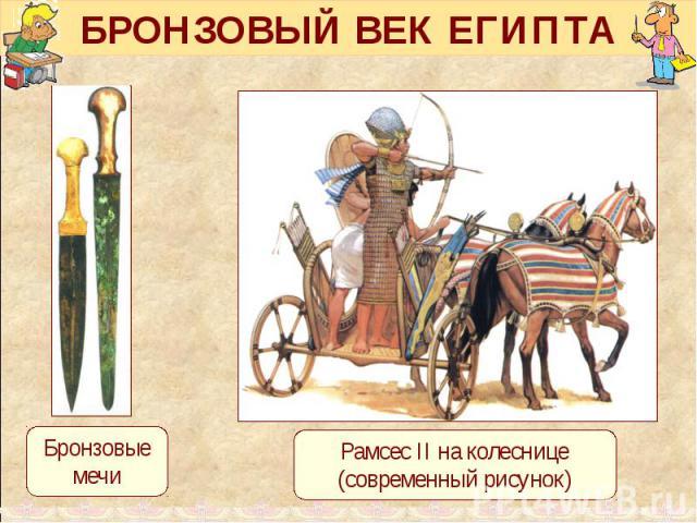 БРОНЗОВЫЙ ВЕК ЕГИПТА