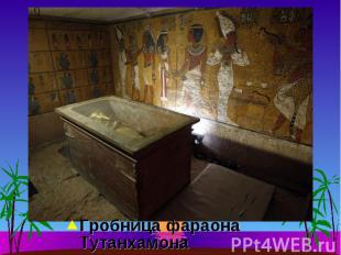 Гробница фараона Тутанхамона Гробница фараона Тутанхамона