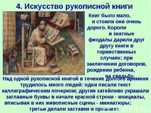 4. Искусство рукописной книги