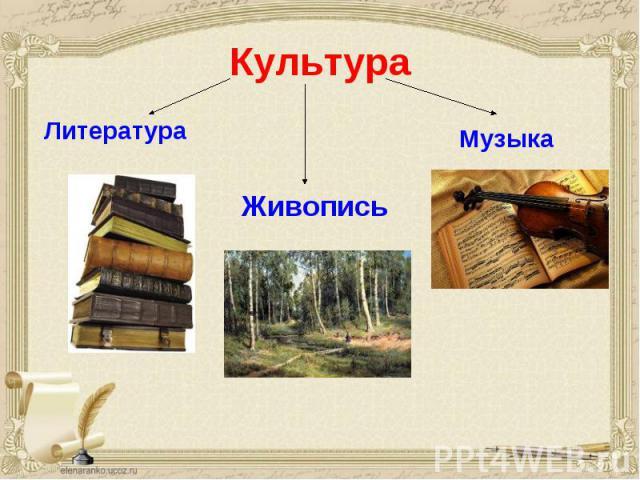 Культура Литература