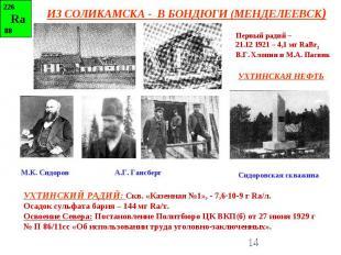 ИЗ СОЛИКАМСКА - В БОНДЮГИ (МЕНДЕЛЕЕВСК)