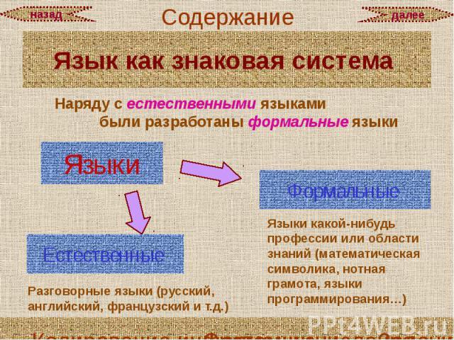 Язык как знаковая система