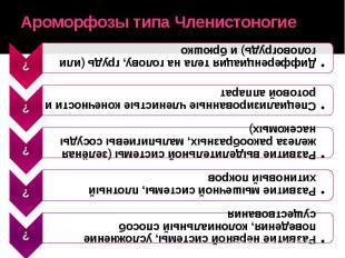 Ароморфозы типа Членистоногие