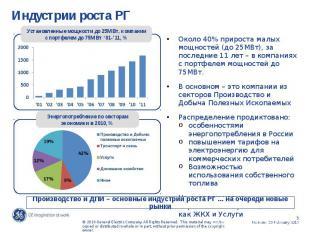 Индустрии роста РГ