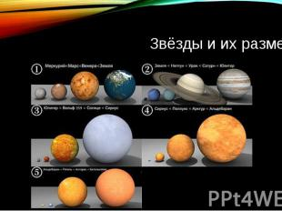 Звёзды и их размеры