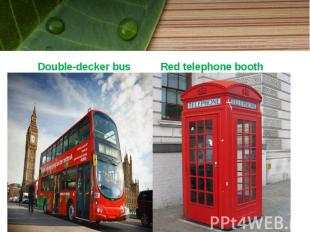 Double-decker bus Double-decker bus