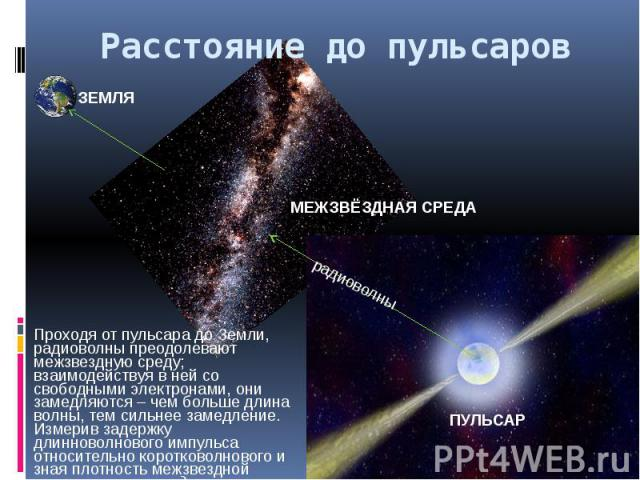 Расстояние до пульсаров